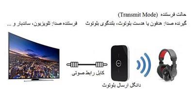 اتصال هدفون بلوتوث Bluetooth به تلویزیون HD - هدفون یا هدست بلوتوث بلندگو