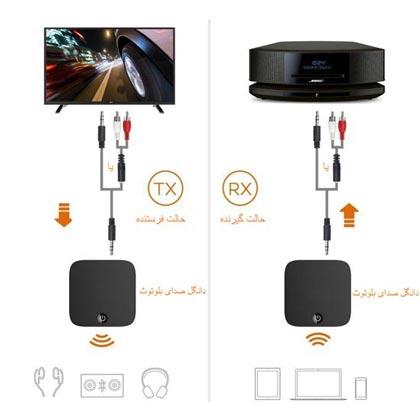 اتصال هدفون بلوتوث Bluetooth به تلویزیون HD